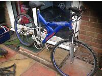 Adults Dual Suspension mountain bike 18 sp