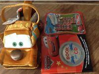 Disney Cars Lightning McQueen, Tow Mater Bundle - All new