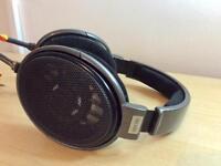 Sennheiser HD650 with custom audiophile cable