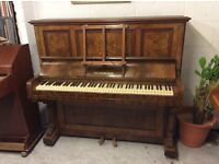 Mickleburgh upright piano PX to clear- CAN DELIVER