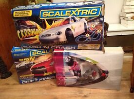 Scalextric drift kings,moto gp world,championship, please call for details