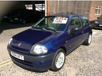 CLIO 1.2CC VERY ECONOMICAL NEW CAM BELT DONE £495 MAY PX
