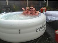 Lay-z-spa hot tub hire