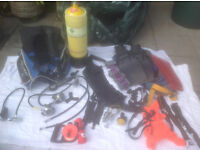 Diving equipment - full set as I will not be diving again.