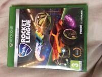 Xbox one rocket league like new