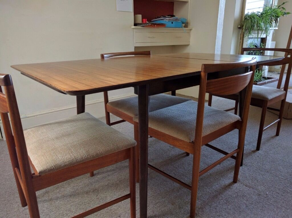 Elegant Vintage 60s Dining Table Chairs In Brighton East Sussex Gumtree Vintage 60s  Dining Table Chairs Onassisstylefo