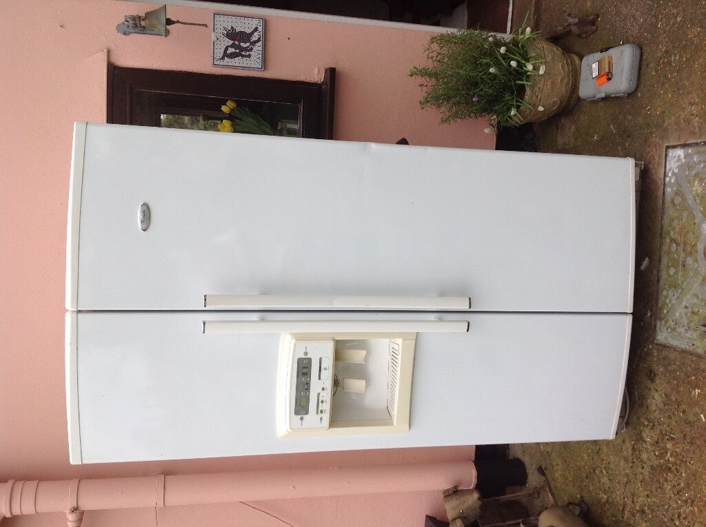 American Fridge With Ice Dispenser Part - 36: Whirlpool American Style Fridge Freezer Ice And Water Dispenser White