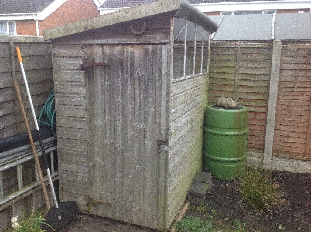 Superieur Small Garden Shed 6u0027 X 4u0027