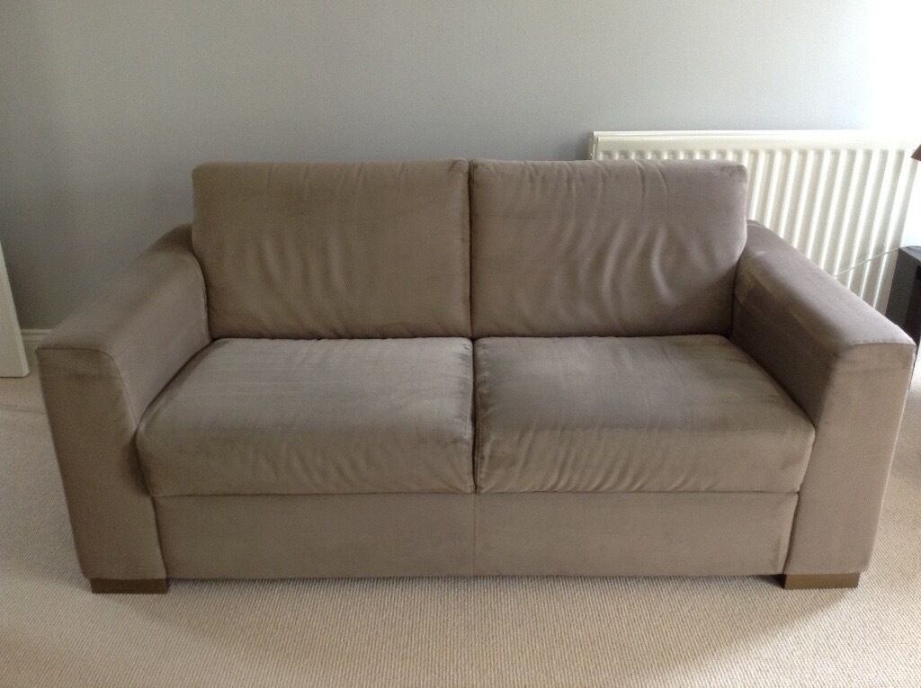 Two Seater Fabric Natuzzi Sofa For Sale   2 Available