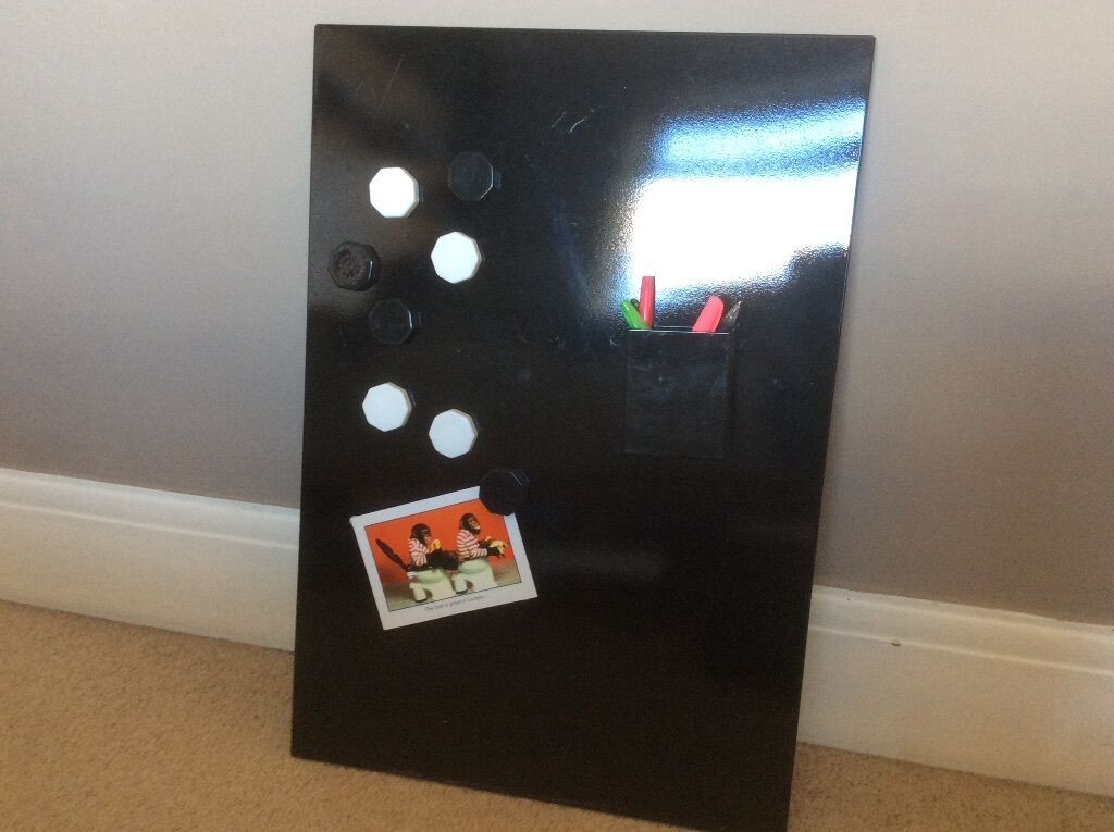 IKEA Spontan Magnetic Memo/ Magnetic Board And Pen Holder Kitchen/office