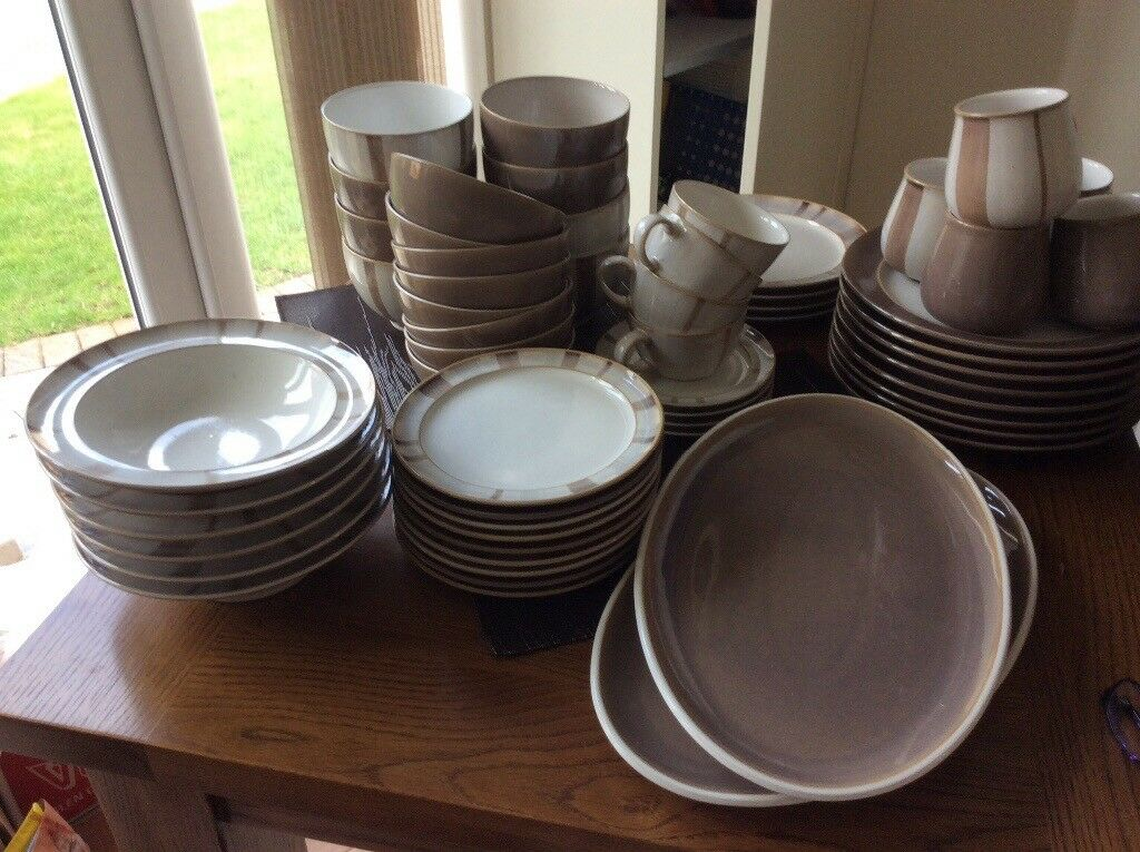 Denby truffle dinnerware perfect condition & Denby truffle dinnerware perfect condition | in Billingham County ...