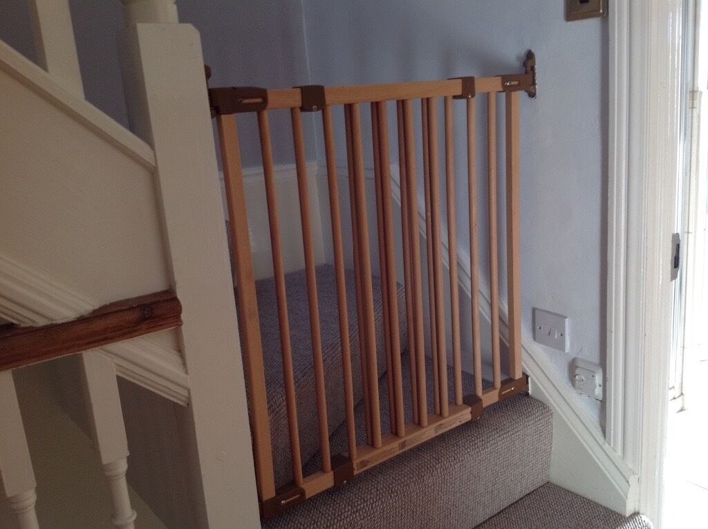 Two IKEA Wooden Stair Gates