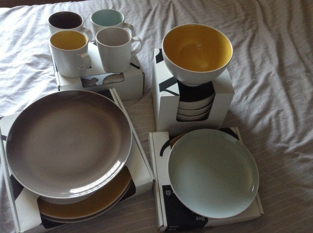 Habitat Rex dinnerware & Habitat Rex dinnerware | in Beccles Suffolk | Gumtree
