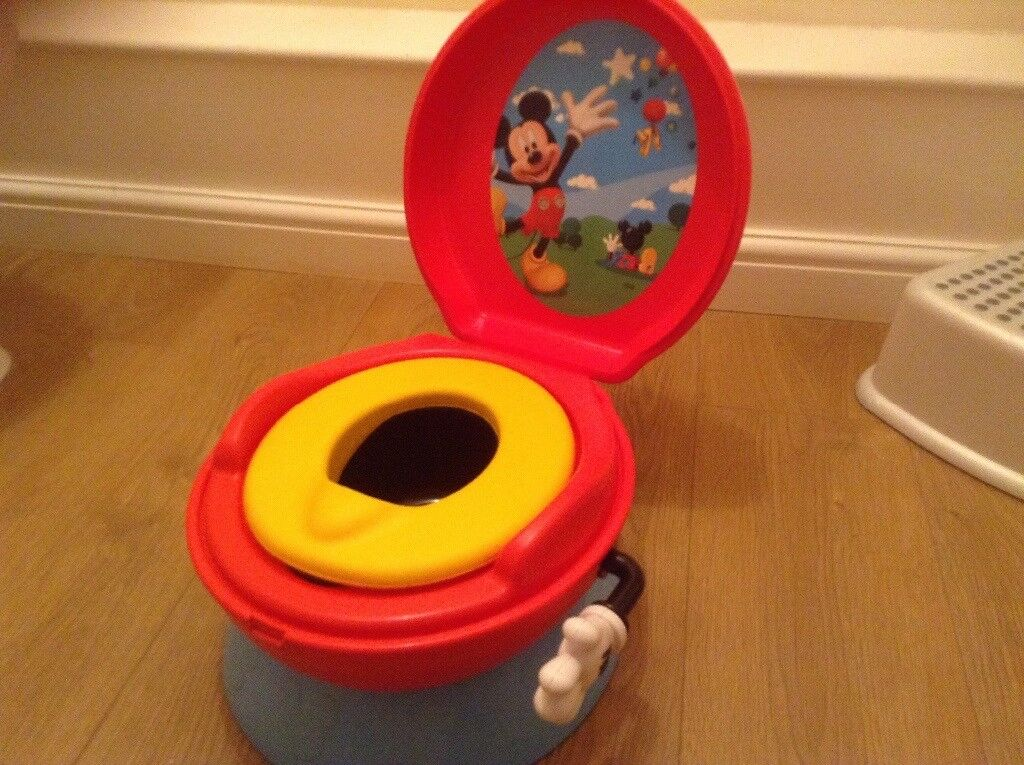 Mickey Mouse first toilet 3 in 1 celebration training potty & Mickey Mouse first toilet 3 in 1 celebration training potty | in Kesgrave ...