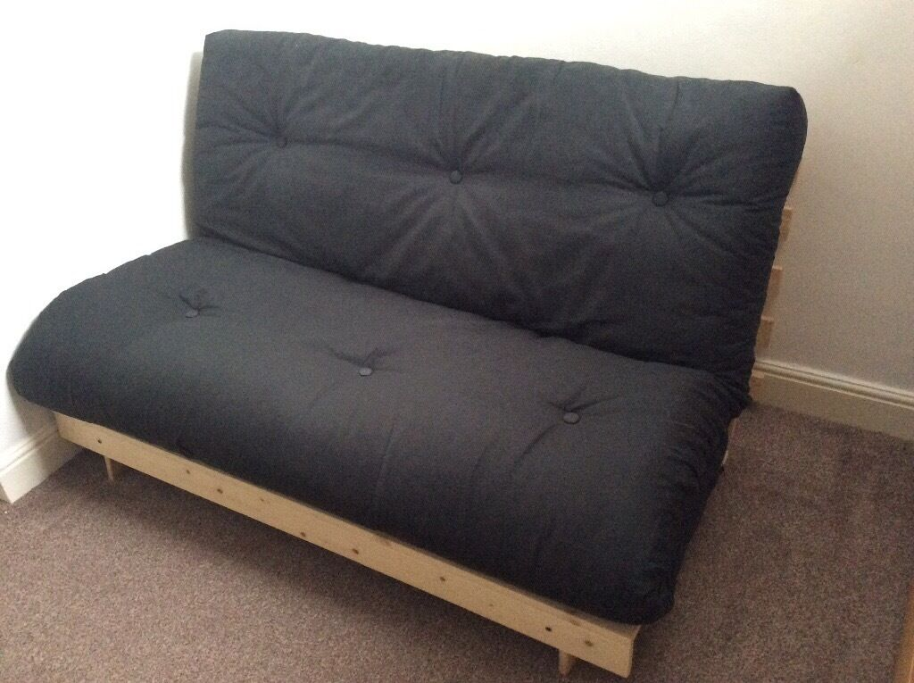 colour match tosa futon sofa bed with mattress black  argos bought 13  colour match tosa futon sofa bed with mattress black  argos      rh   gumtree