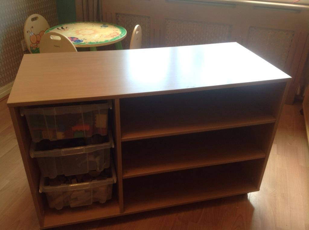 GALT Storage Cupboard With Trays Perfect For Kids, Childminding / School /  Toy Rooms /