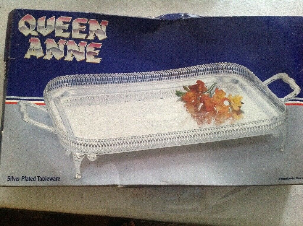 Queen Anne Silver serving tray & Queen Anne Silver serving tray | in Southside Glasgow | Gumtree