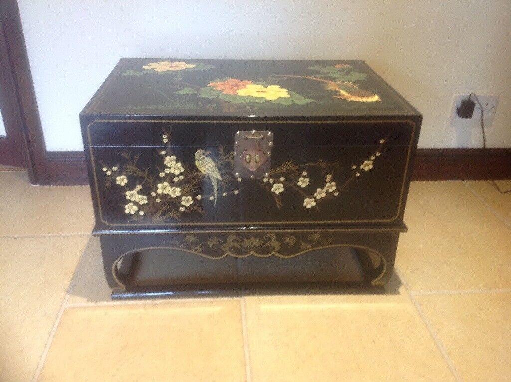 Beautiful Chinese Storage Box/Coffee Table