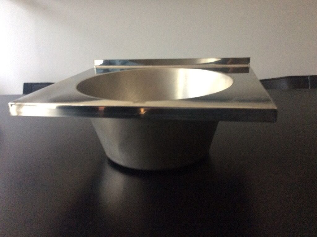 Small Stainless Steel Sink For Boat Or Caravan With Route 2000 Waste  London/South Coast