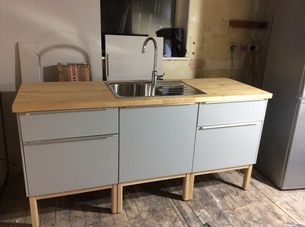 IKEA Method Veddinge Grey Kitchen