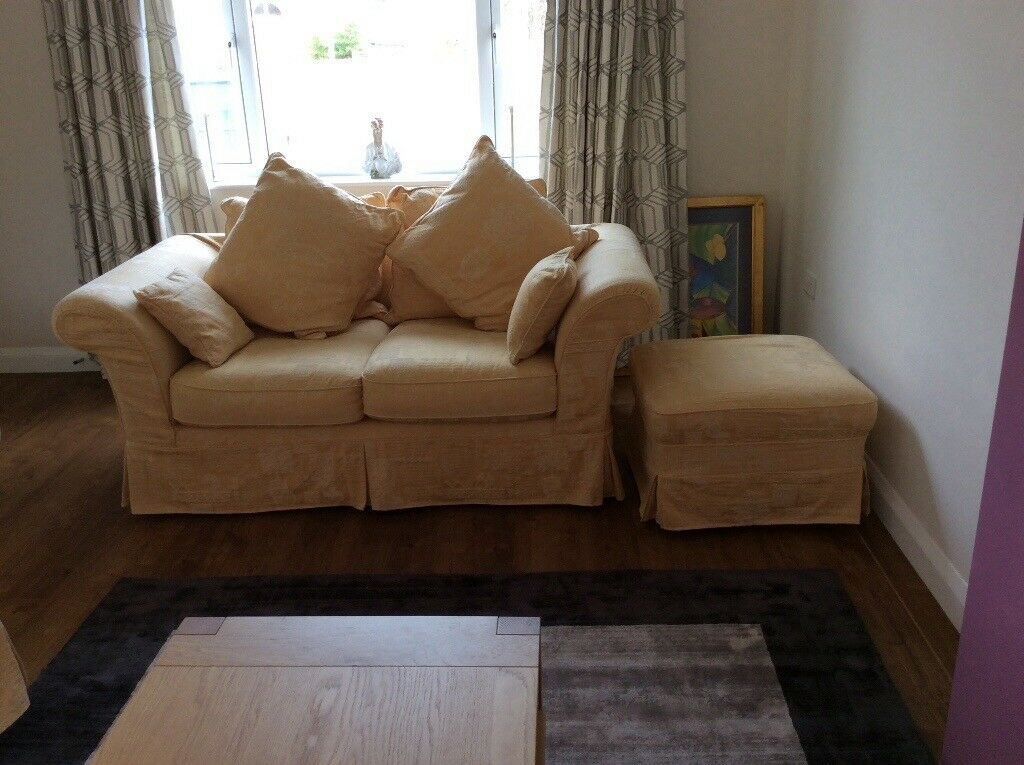 Genial Two Sofas, Chair And Footstool With Removable Machine Washable Covers,  Excellent Condition