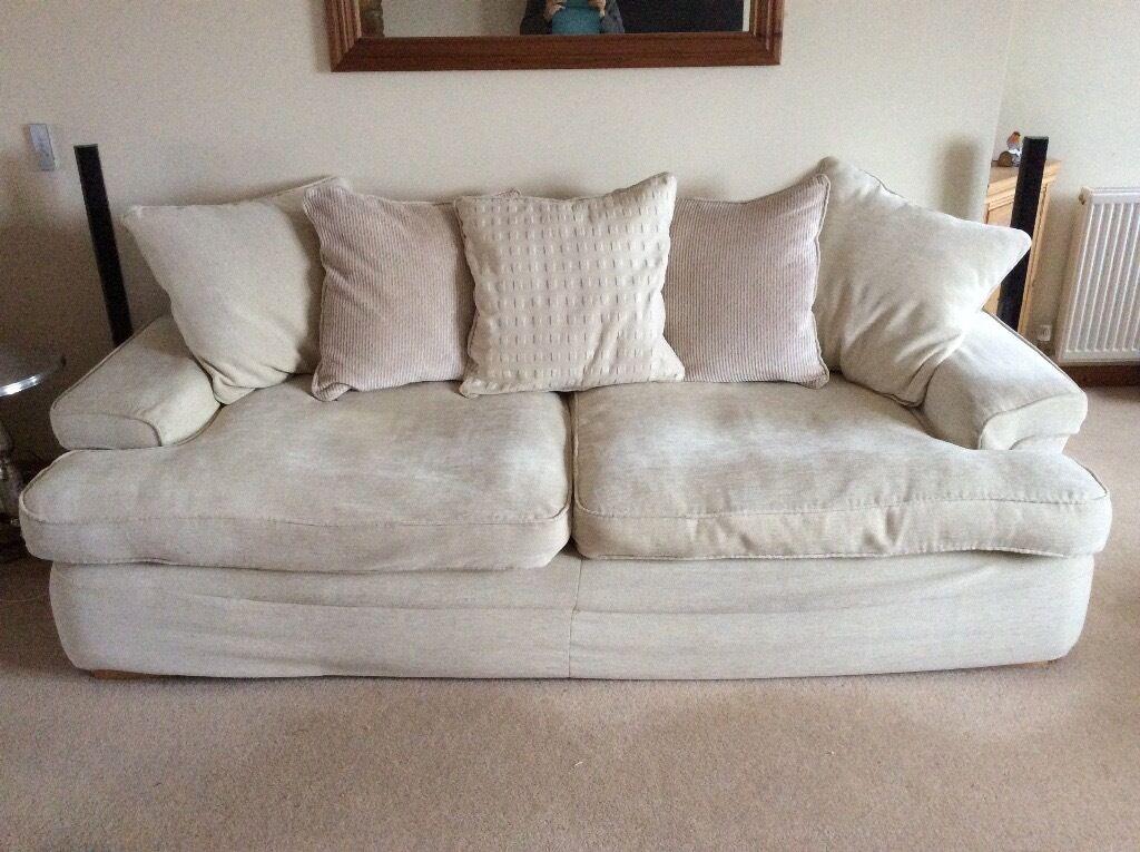 Great Comfy Cream Sofa.