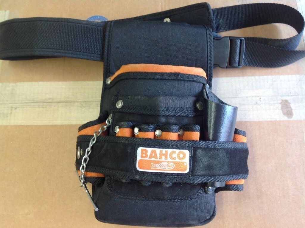 bahco tool pouch and belt