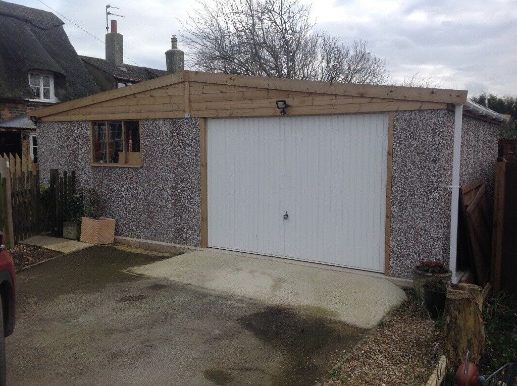 Apex Hanson Garage; Double Size 18u0027.1 X 24u0027.3 ;