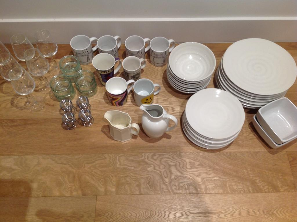 JOB LOT Dinnerware/Glasses/Cups/Jars/Containers/Tins/NEW : jamie oliver tableware - pezcame.com