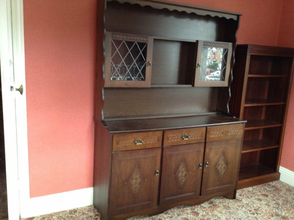 A Range Of Solid Wood Reproduction Furniture In Good Condition