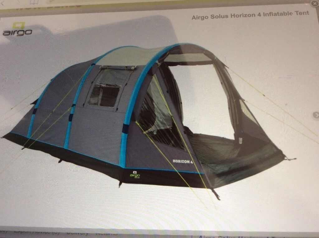 Airgo Solus Horizon 4 Tent Berth Family Airbeam Rrp & Horizon 4 Tent - Best Tent 2018