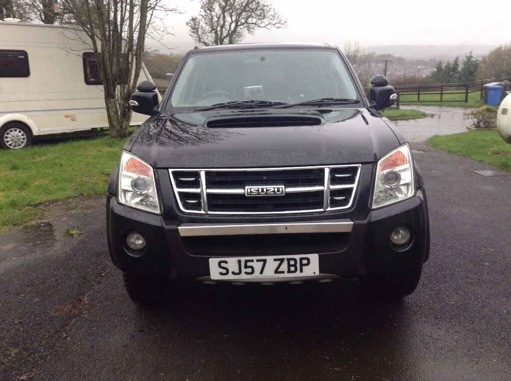Isuzu Rodeo Crew-cab 4x4 Pickup with rear canopy & Isuzu Rodeo Crew-cab 4x4 Pickup with rear canopy | in Dalry North ...