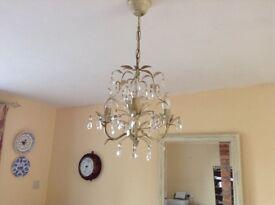 Laura Ashley chandelier