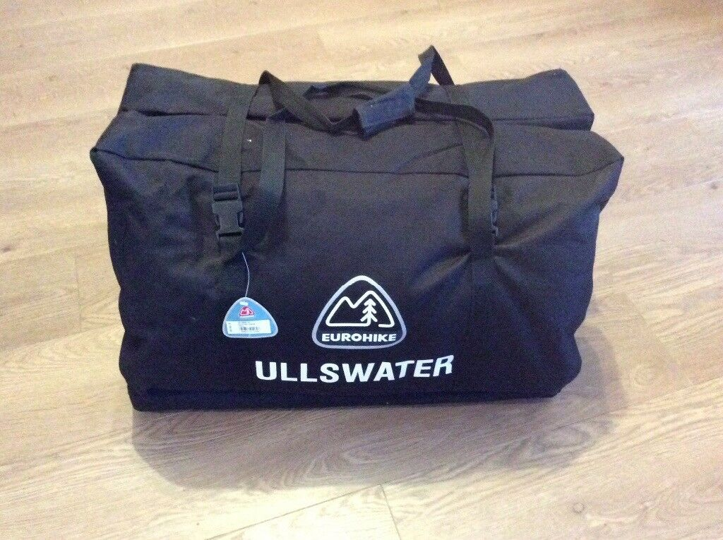 Image 1 of 7 & Eurohike Ullswater 6 berth tent with 1 x double air bed and 1 x ...