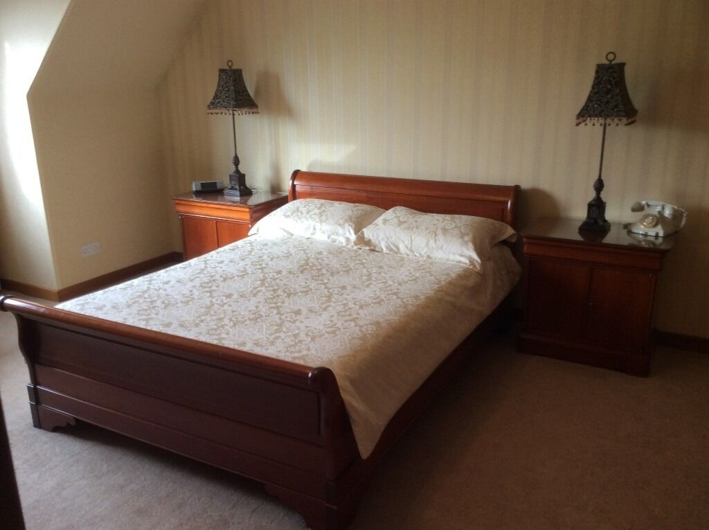 Beautiful Grange Louis Philippe Bedroom Suite   In Exceptional Condition
