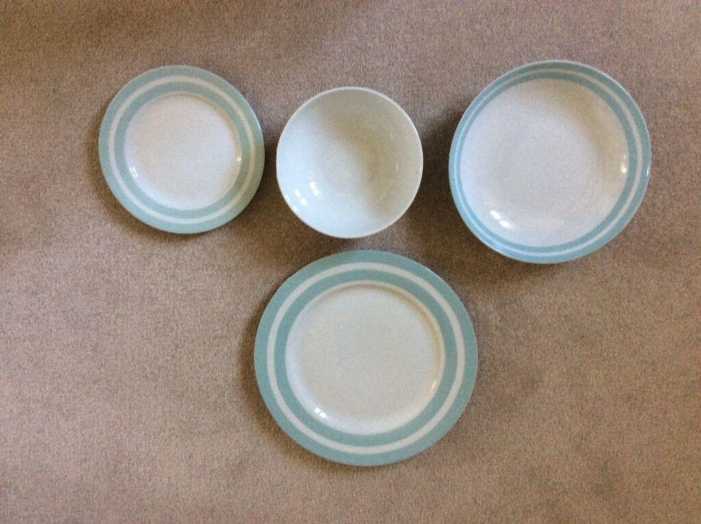 Duck egg blue brand new crockery set & Duck egg blue brand new crockery set | in Harrietsham Kent | Gumtree