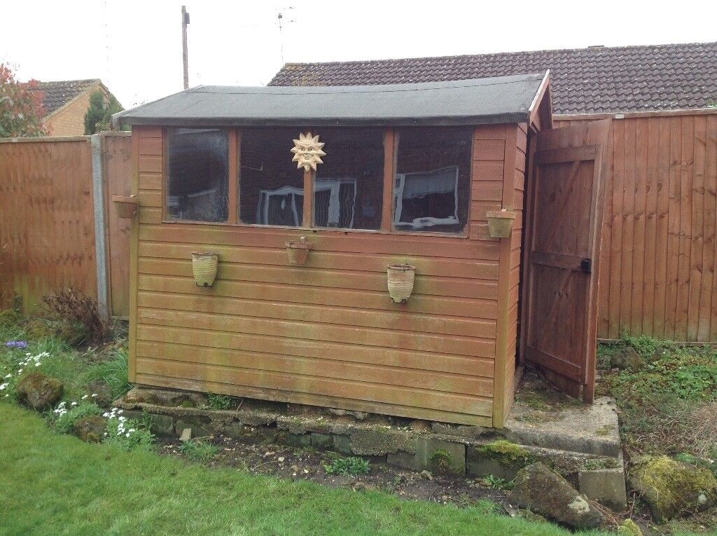 8x6 Wooden Garden Shed.
