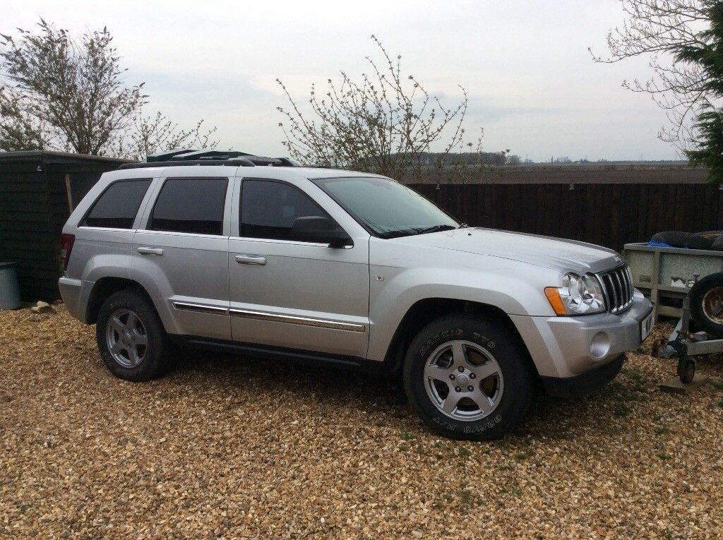 Jeep Grand Cherokee, 2005, Good Condition, Low Mileage, Alloy Wheels, Full