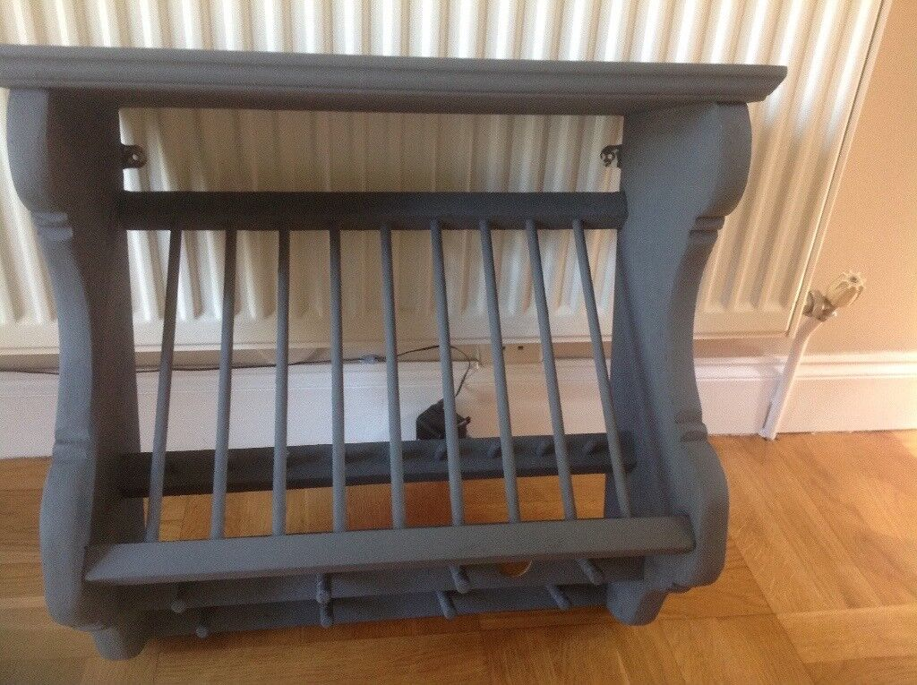 Grey painted Penny Pine plate rack with mug hooksin Bath Somerset - Ready to hang & Pine plate rack ads buy u0026 sell used - find right price here