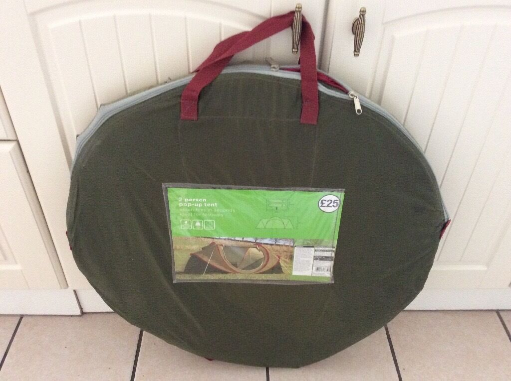 Asda 2 Person Pop Up Tent & Asda 2 Person Pop Up Tent | in Leicester Leicestershire | Gumtree