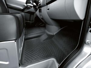 Genuine OEM Mercedes Benz Sprinter Black All Season Floor Mats (with Code  H00)