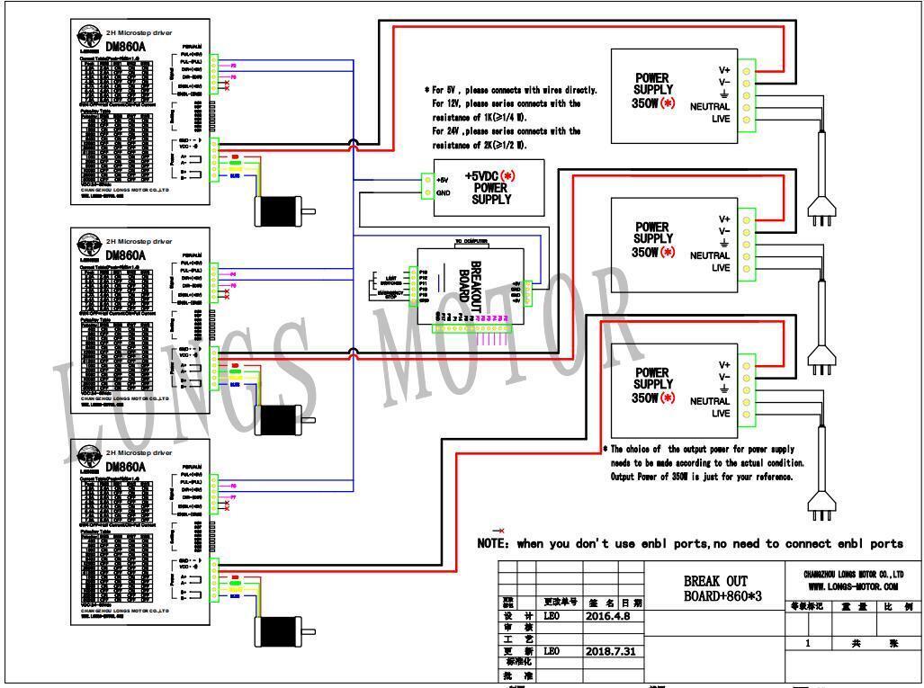 Us Free Ship  1axis Nema34 Stepper Motor 1700oz