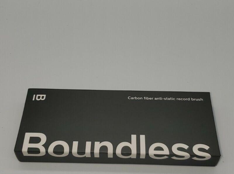 Boundless Audio Record Cleaner Brush - Vinyl Cleaning Carbon Fiber Anti-Stati...