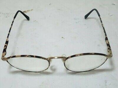 afbac279f82d Giorgio Armani Vintage Eyeglass Frame Tortoise Oval Prescription Glasses