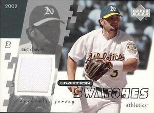 ERIC-CHAVEZ-2002-UD-OVATION-SWATCHES-GAME-USED-JERSEY