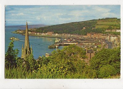The Bay Rothesay Isle Of Bute 1967 Postcard 924a