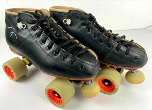 Riedell 495 With Arius Red Roller Derby Skate FREE POSTAGE