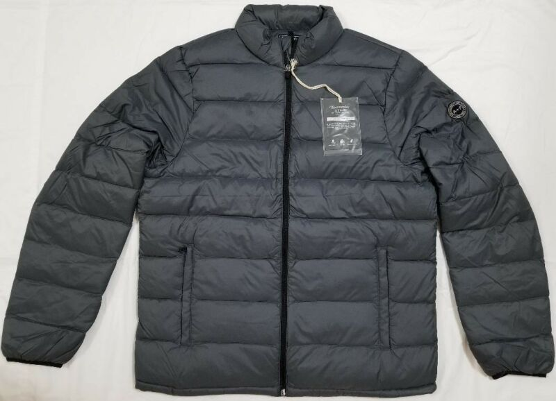 648fd62d7 NWT ABERCROMBIE & FITCH LIGHT WEIGHT DOWN-FILLED PUFFER, MED, L, XL RETAIL  $120