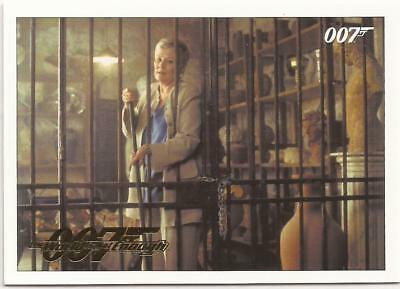 James Bond Classics Gold Parallel 007 Archives Insert World is Not Enough 50