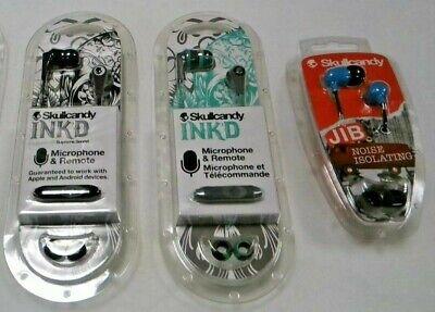 Skullcandy Headphones In Ear Earphones Ink'd 2.0 Supreme Sound With Mic UK